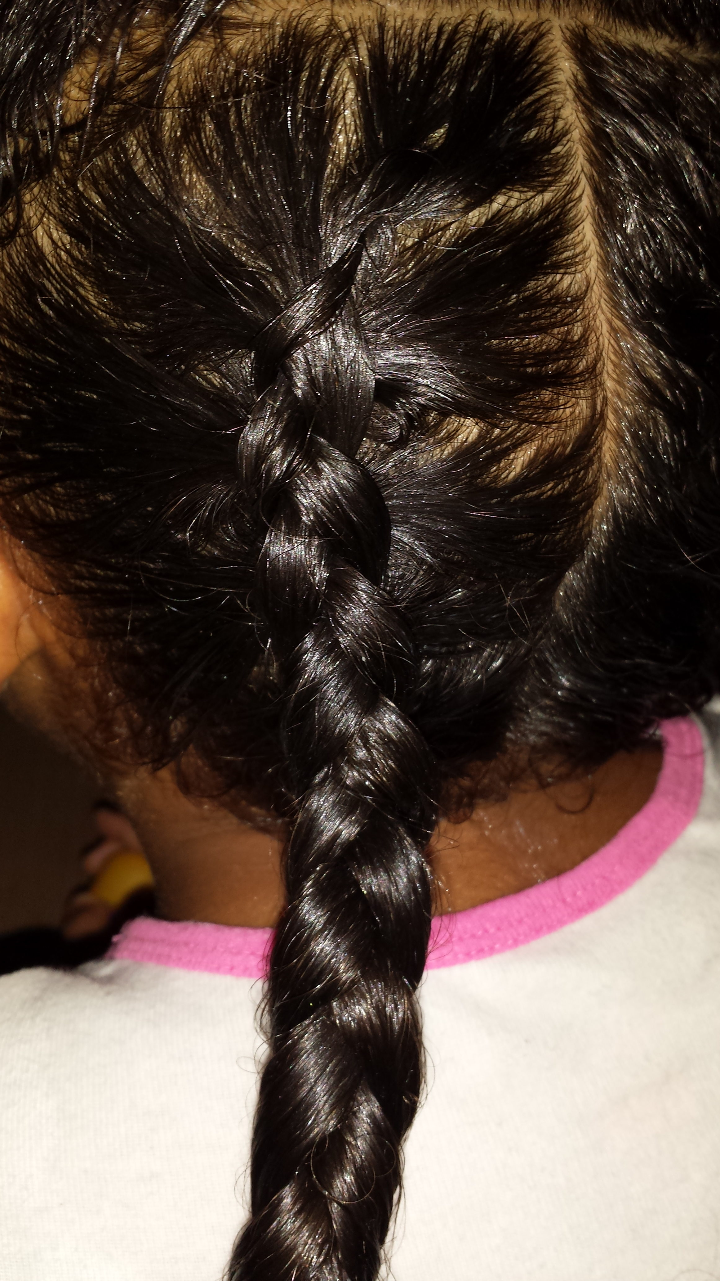 Simple Easy Braid Hairstyle Mixed Family Life