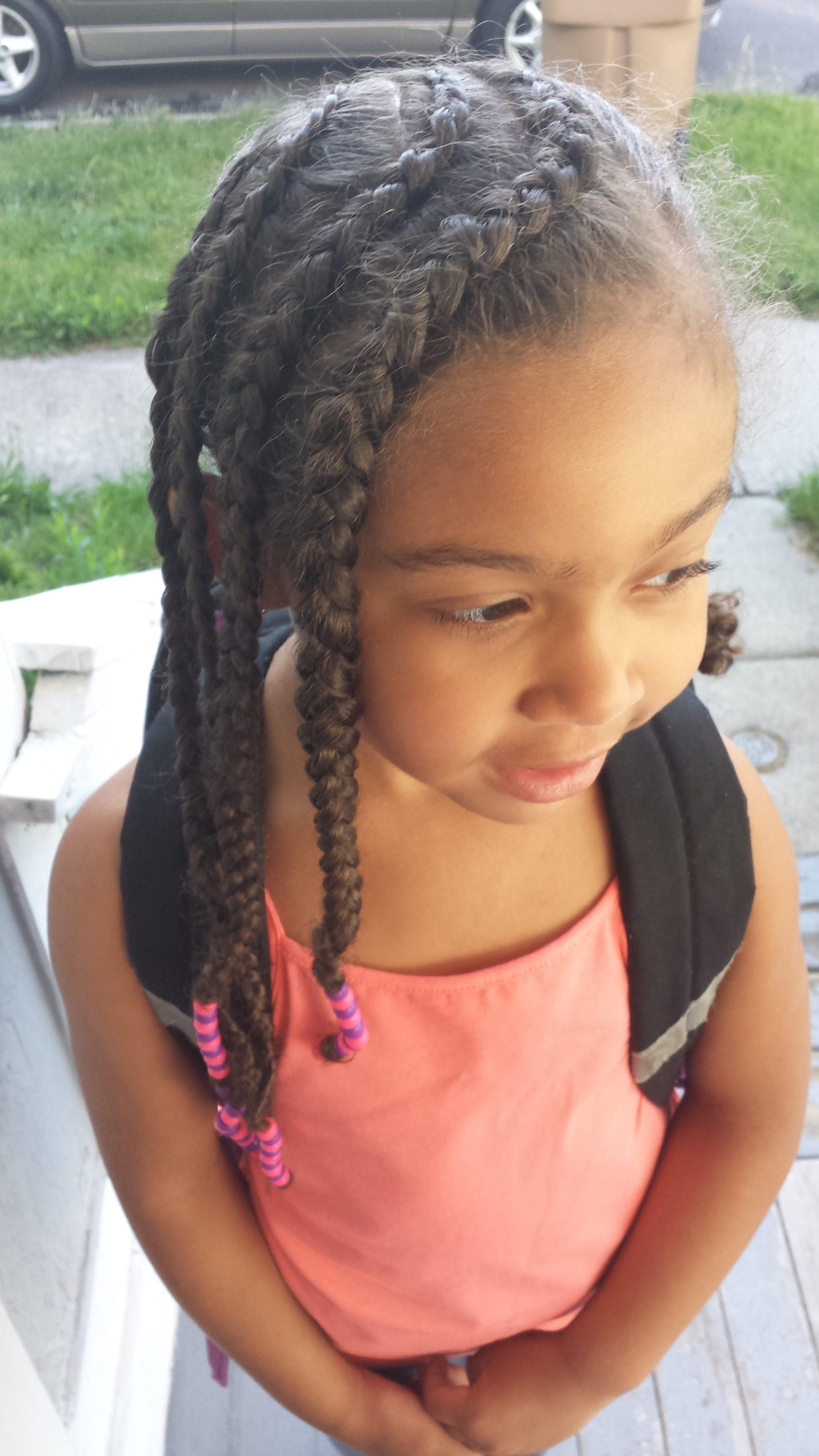 Braids Beads Tutorial Mixed Family Life