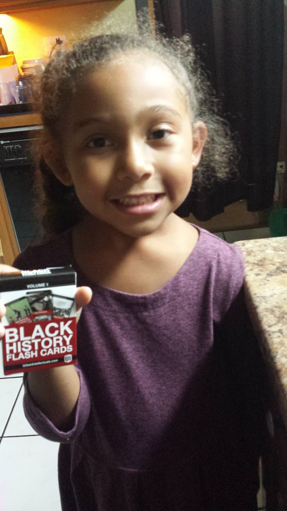Holiday Gift Guide - Multiracial Kids / Biracial Hair Care by Mixed Family Life for Multiracial Media _Black History Cards