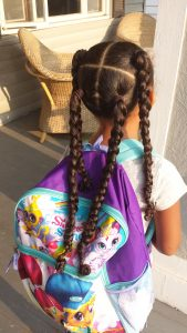 Protective Style _ Winter Care Tips for Curly Hair by Mixed Family Life for Multiracial Media