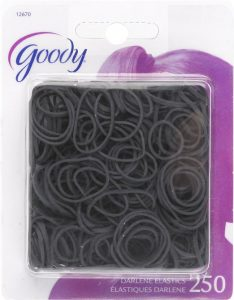MUST HAVE Products for Multiracial Hair Care - Black rubber bands - by Mixed Family Life