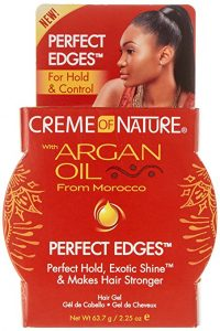 Multiracial Kids Hair Care - Q & A - by Mixed Family Life for Multiracial Media _ Creme of Nature Argan Oil Edge Control