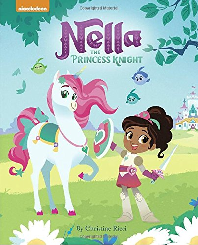 Holiday Gift Guide - Multiracial Kids / Biracial Hair Care by Mixed Family Life for Multiracial Media _ Nella the Princess Knight book