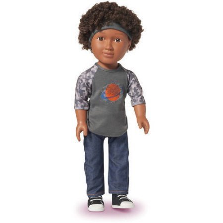 Curly Haired Dolls - Opinions by Mixed Family Life for Multiracial Media _ Curly Boy Doll