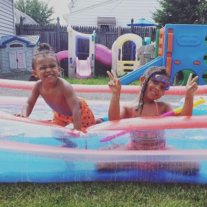 Multiracial Kids Hair Care - Q & A - by Mixed Family Life for Multiracial Media _ Swimming