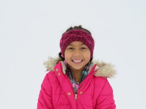 Winter Head Wrap _ Winter Care Tips for Curly Hair by Mixed Family Life for Multiracial Media