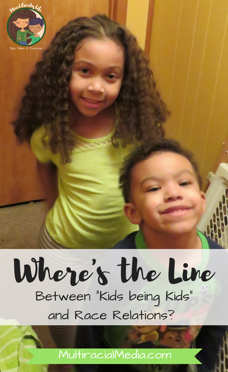 Where's the Line between Kids being Kids and Race Relations by Mixed Family Life for Multiracial Media _ PIN