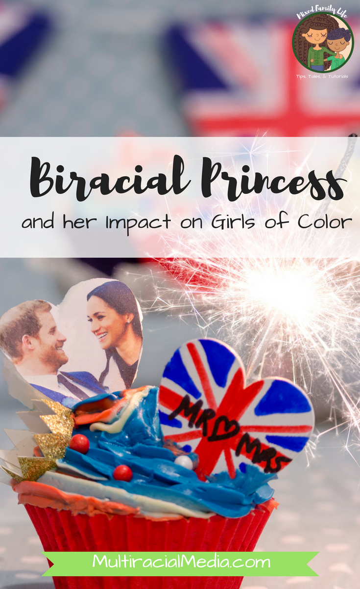 Biracial Princess and her Impact on Girls of Color by Mixed Family Life for Multiracial Media